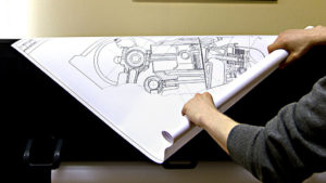 Печать чертежей А1 на ватмане в Рязани