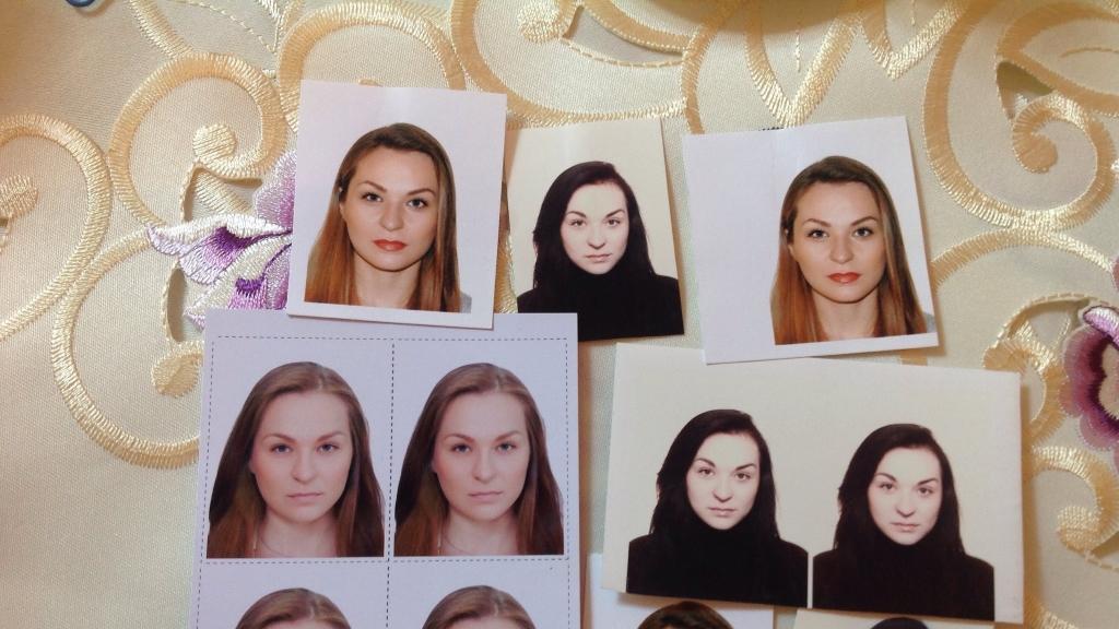 Макияж и прическа для на паспорт