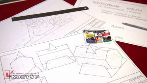 Выполнение чертежей карандашом в Рязани