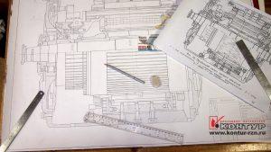 Выполнение чертежа карандашом в Рязани