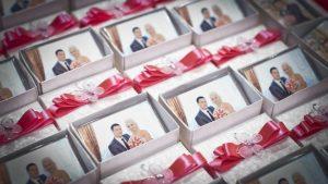 Акриловые магниты с фото в Рязани на свадьбу