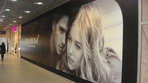 Баннерная печать для торговых центров
