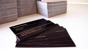 Изготовление визиток в Рязани