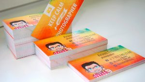 Напечатать цветные визитки Рязань.