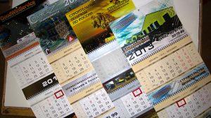 Напечатать календарь с фирменной символикой в Рязани