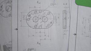 Выполнение чертежей на бумаге в Рязани