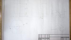 Выполнение чертежей карандашом в Рязани для студентов