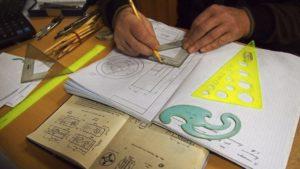 Выполнение чертежей карандашом любой сложности по ГОСТ