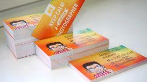 Печать визиток в Рязани