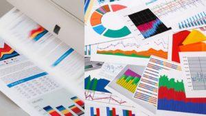 Цветная печать диаграмм и графиков