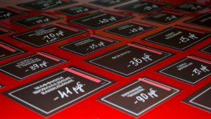 Печать ценников на товары