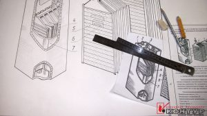 Схематичный чертеж на ватмане в Рязани