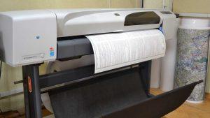 Напечатать чертеж любого формата в Рязани можно у нас.