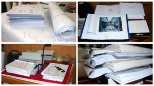 Печать, складывание и брошюровка проектной документации