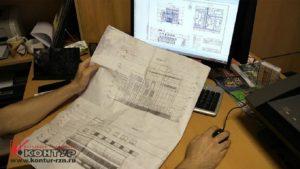 Выполнение сборочных чертежей в Рязани на Муз Училище
