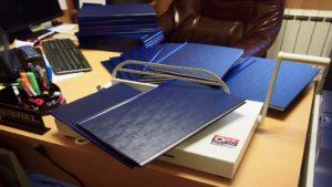 Оперативный переплет дипломов для студентов в Рязани
