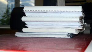 Складывание и брошюровка документации и проектов