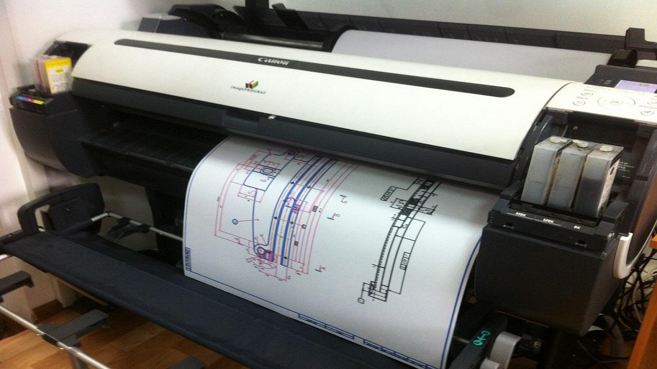 Сканирование и печать широкоформатных чертежей