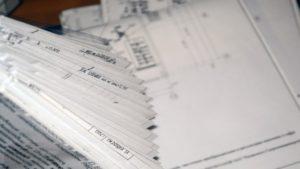 Складывание отчетной документации