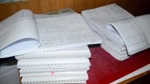 Складывание проектной документации
