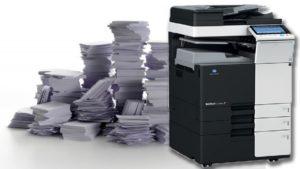 Оперативное копирование чертежей и документации