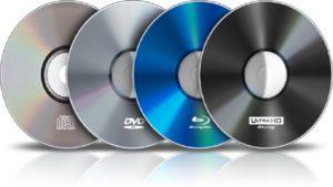 Запись информации на диск CD-R, CD-RW