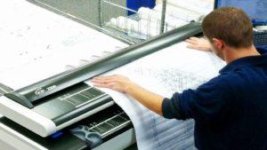 Сканирование широкоформатных чертежей