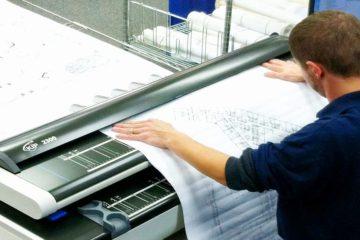 Сканирование чертежей и документов