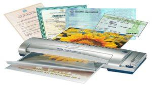 Глянцевое и матовое ламинирование документов