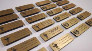 Печать и изготовление именных бейджей Рязань